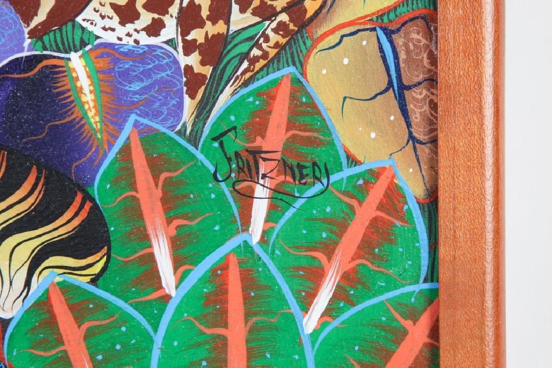 "HAITIAN / BRAZILIAN SCHOOL (20th c) ""Exotic Animals in - 2"