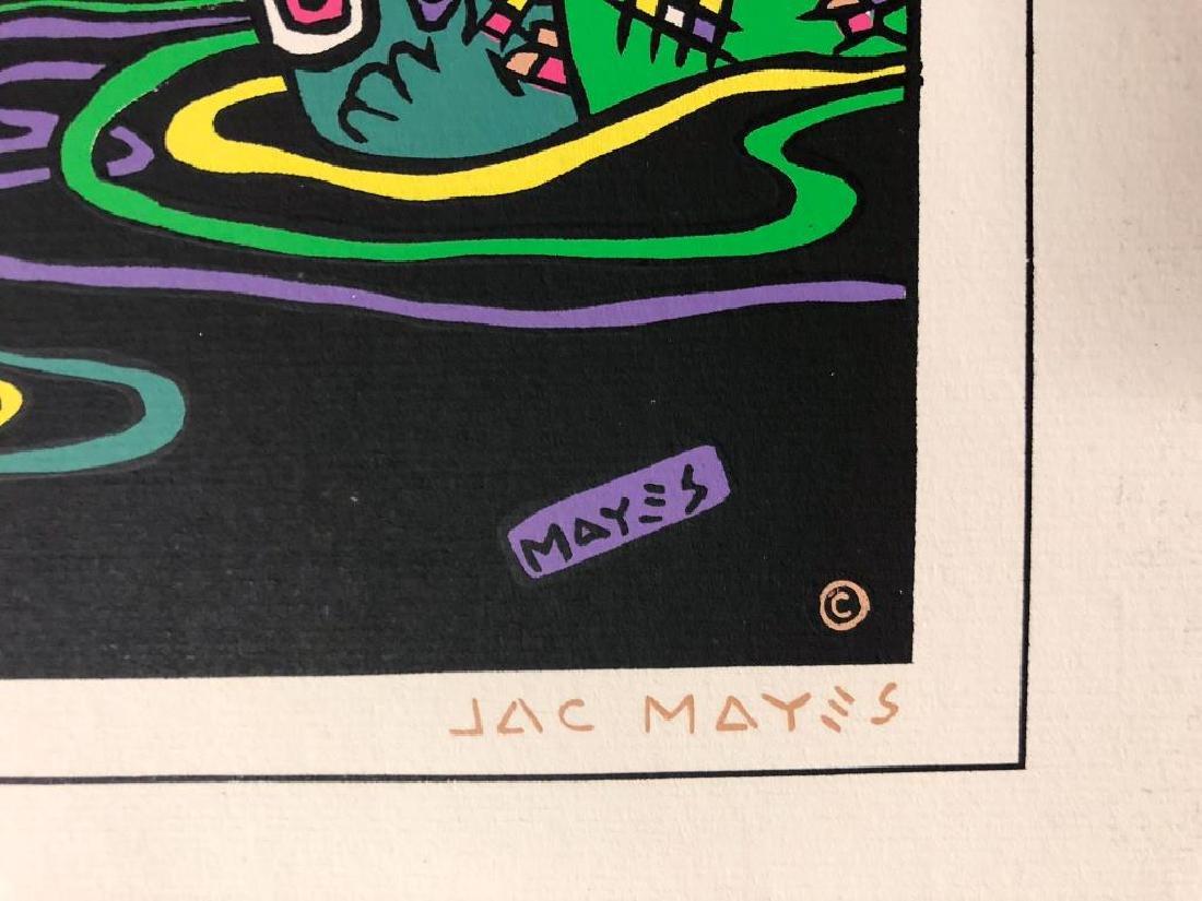 """JACQUE MAYES PORTFOLIO """"Jail Bait"""" Signed limited - 7"""