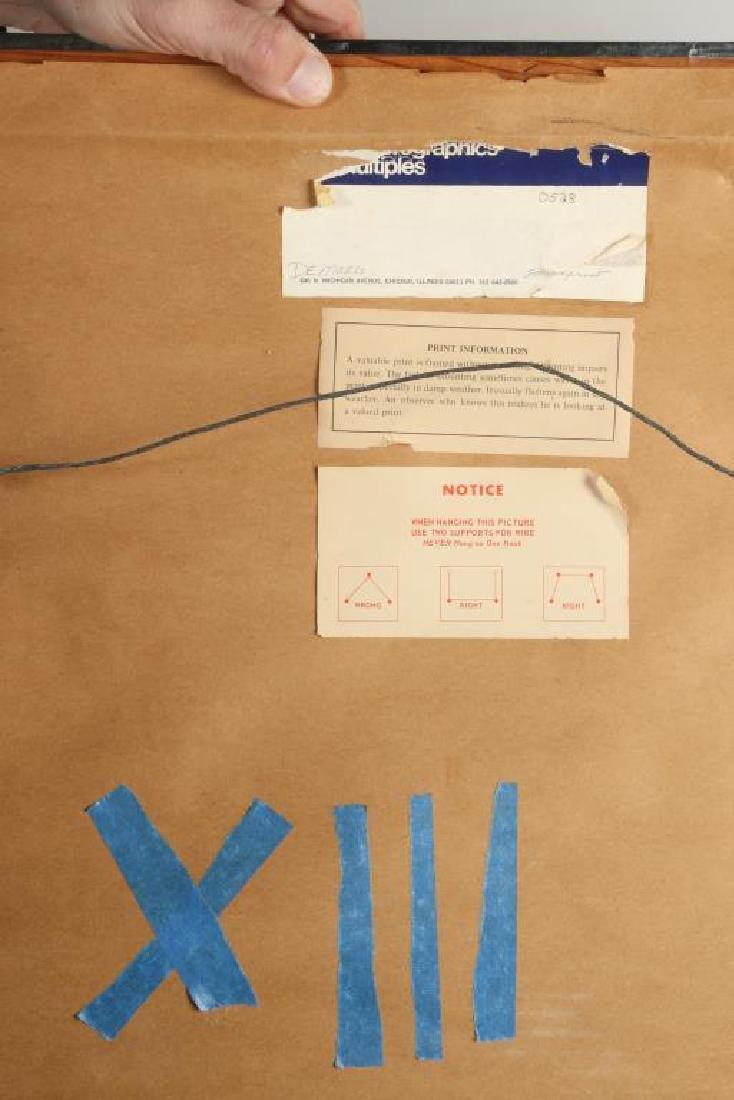 """HUGO DEMARCO (1932-1995) """"Composition"""" silkscreen in - 2"""