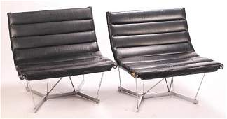 HERMAN MILLER BY GEORGE NELSON CATENARY CHAIRS Matching