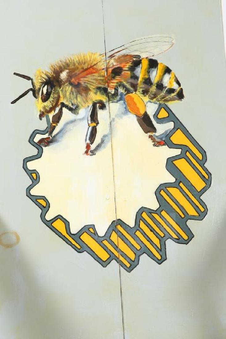 "MODERN ""BEE"" LOUNGE CHAIR signed MADI 40 1/2 x 28 1/2 x - 3"
