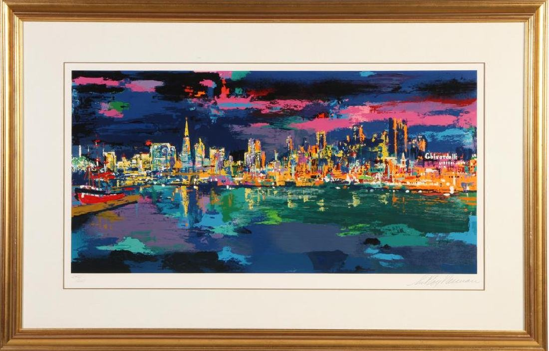 "LEROY NEIMAN (1921-2012) ""City by the Bay"" serigraph 19"