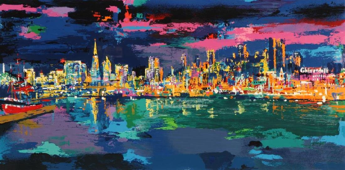 "LEROY NEIMAN (1921-2012) ""City by the Bay"" serigraph 19 - 3"