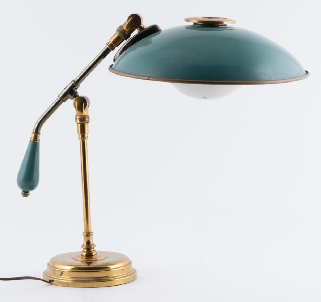 MODERN GERALD THURSTON FLYING SAUCER TABLE LAMP Fully