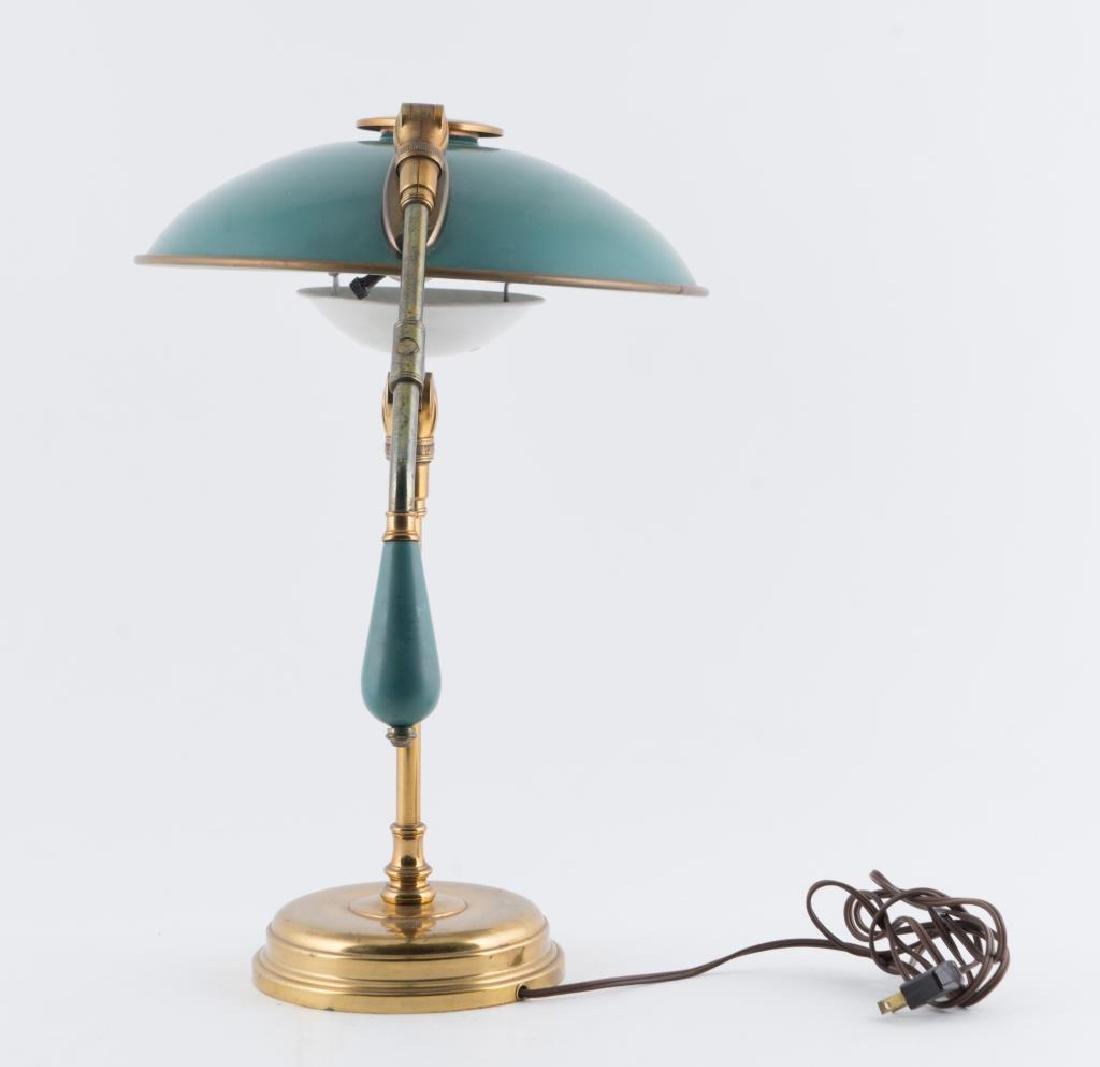 MODERN GERALD THURSTON FLYING SAUCER TABLE LAMP Fully - 2