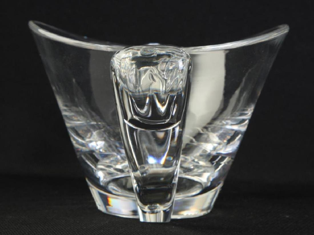 STEUBEN CRYSTAL VASE and a SECOND SIGNED EXAMPLE - 2