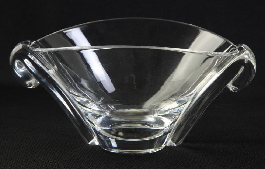 STEUBEN CRYSTAL VASE and a SECOND SIGNED EXAMPLE - 4