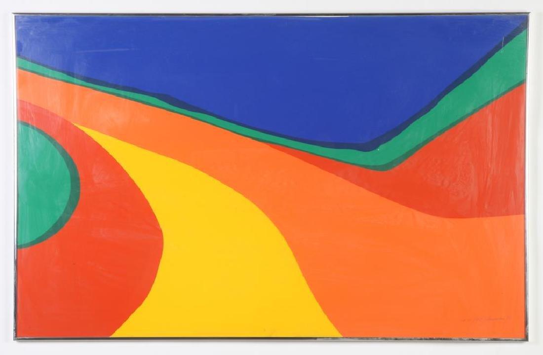 "MARTHA LILLIE SHERMAN (b. 1909) ""Abstraction"""