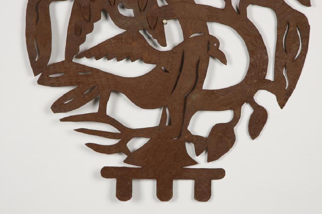 "EUROPEAN SCHOOL (20th c) Sculpture ""3 Birds in a Tree"" - 3"