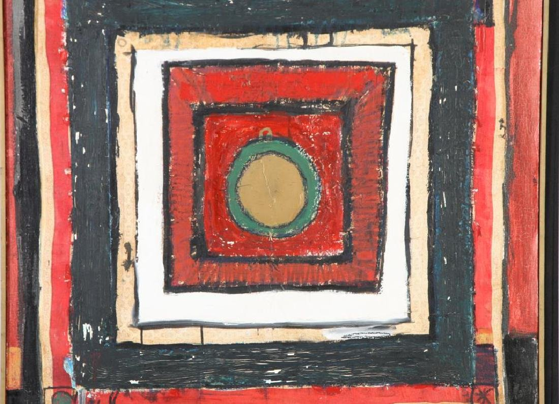 "JOHN MURRAY (20th c) ""Athens"" oil on canvas 48 x 36 - 4"