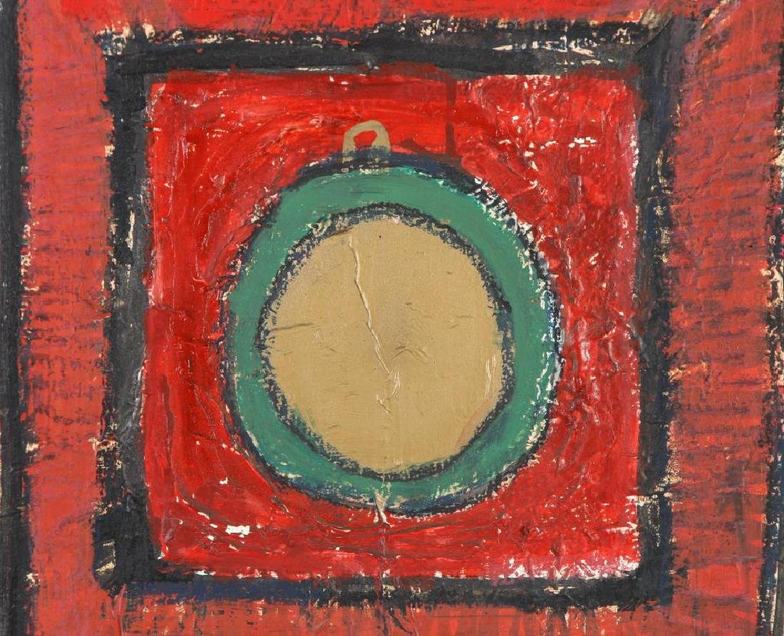 "JOHN MURRAY (20th c) ""Athens"" oil on canvas 48 x 36 - 6"