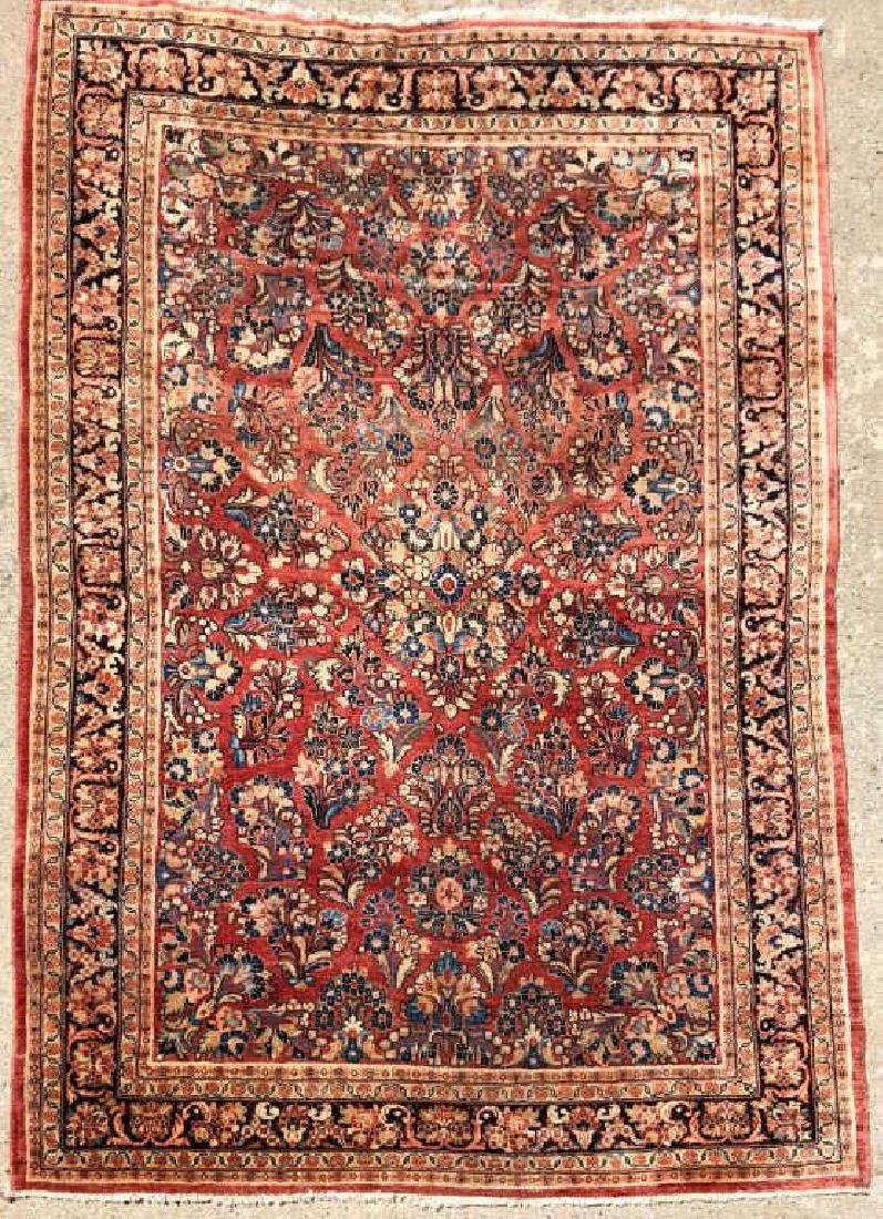 "(Mid 20th c) SOURUK ORIENTAL SCATTER RUG 5'4"" x 8' 1""."