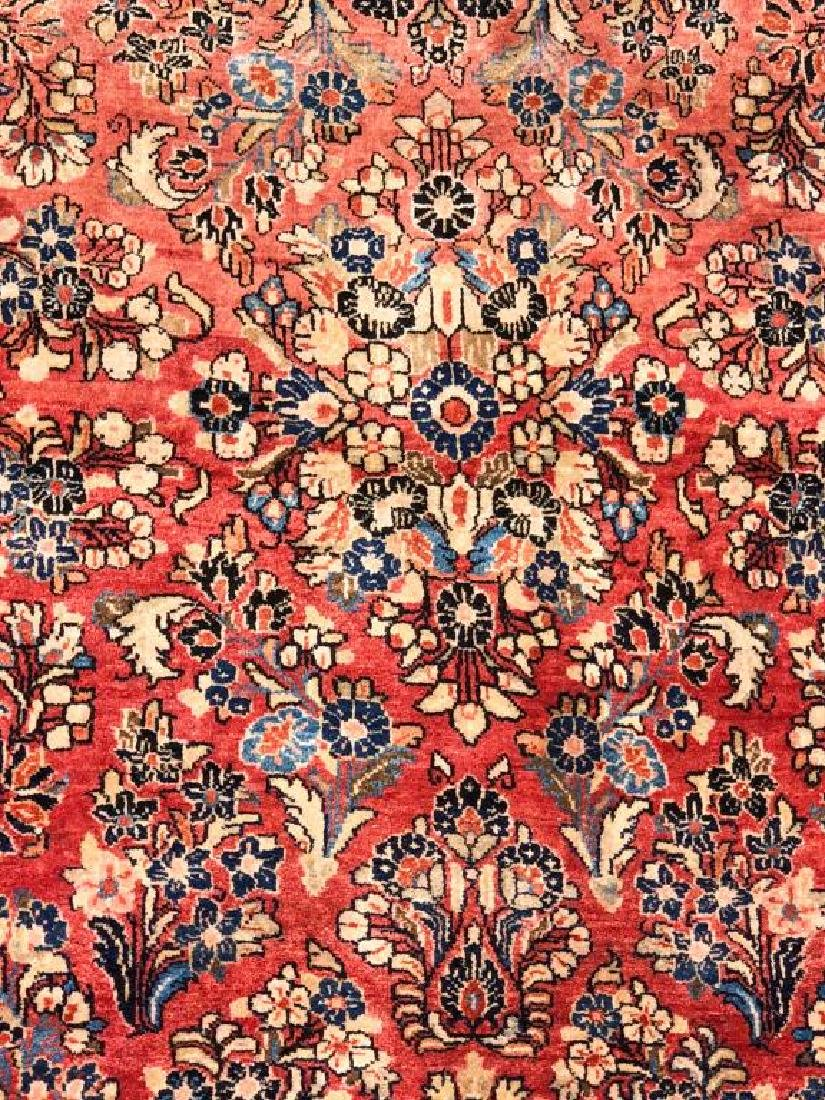 "(Mid 20th c) SOURUK ORIENTAL SCATTER RUG 5'4"" x 8' 1"". - 3"