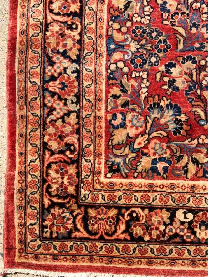"(Mid 20th c) SOURUK ORIENTAL SCATTER RUG 5'4"" x 8' 1"". - 4"