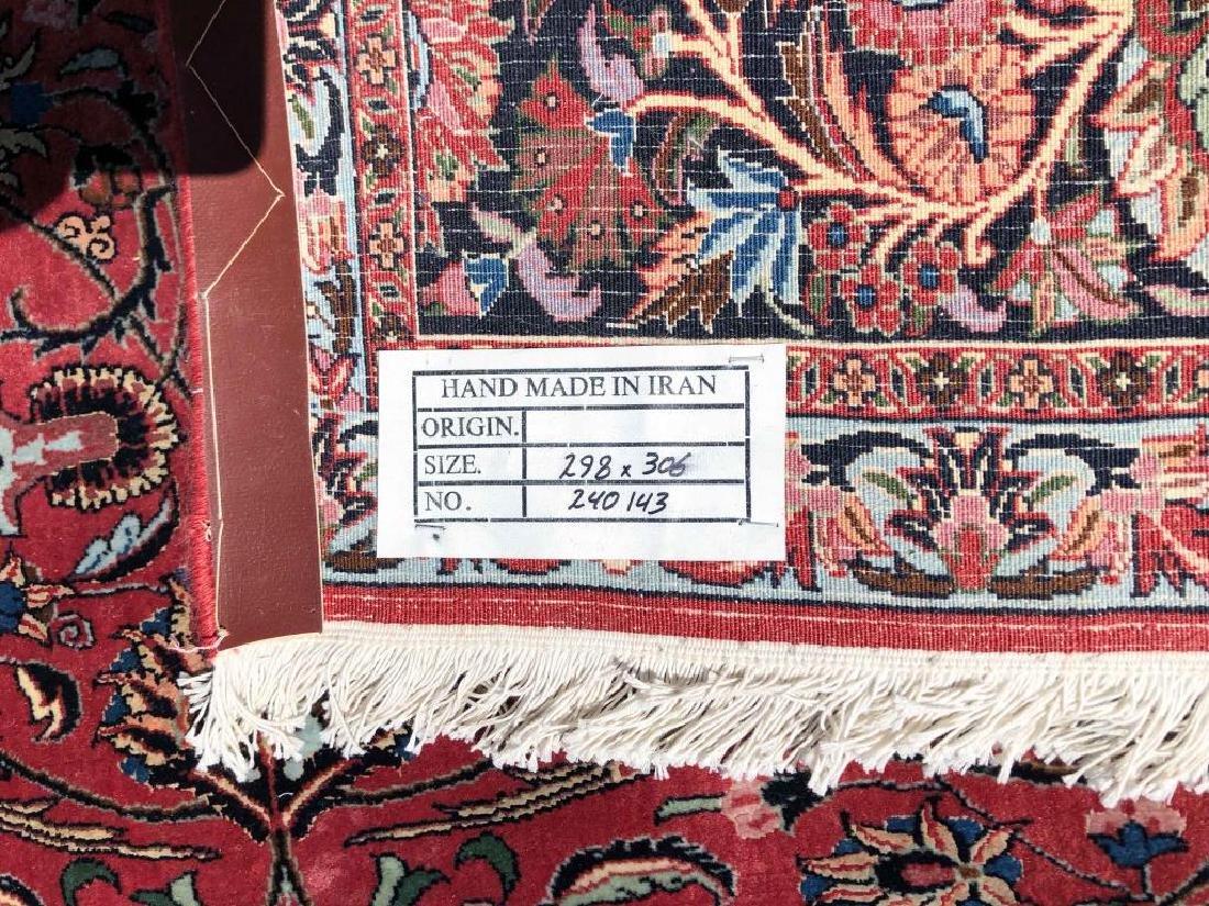 """ROOM SIZE PERSIAN BIJAR ORIENTAL RUG 10' x 9' 8"""". - 10"""