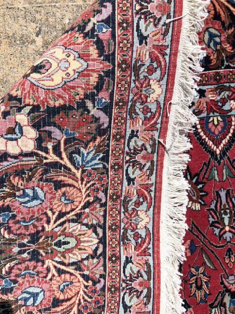 """ROOM SIZE PERSIAN BIJAR ORIENTAL RUG 10' x 9' 8"""". - 2"""