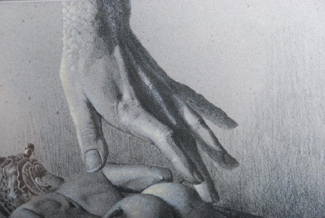 American School (20thc.) Fantasy Figure Study Artist's - 3