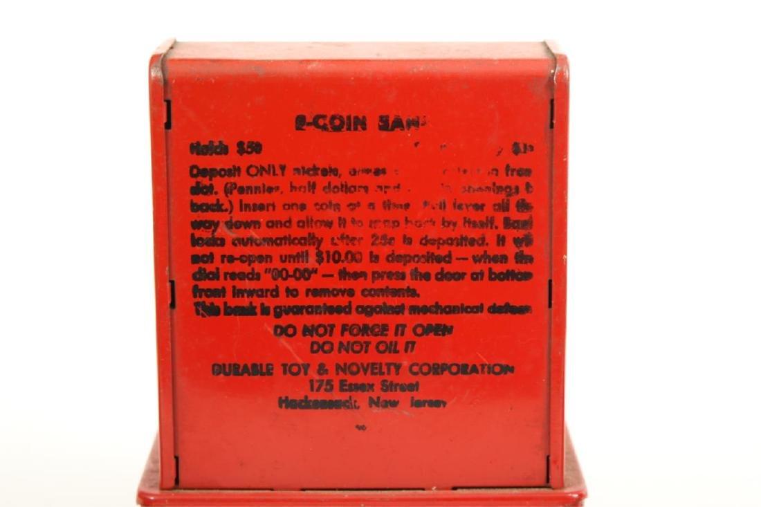 UNCLE SAM BANK & FOUR (4) STILL BANKS - 4
