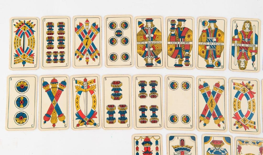 (19th c) ITALIAN PLAYING CARDS - 3