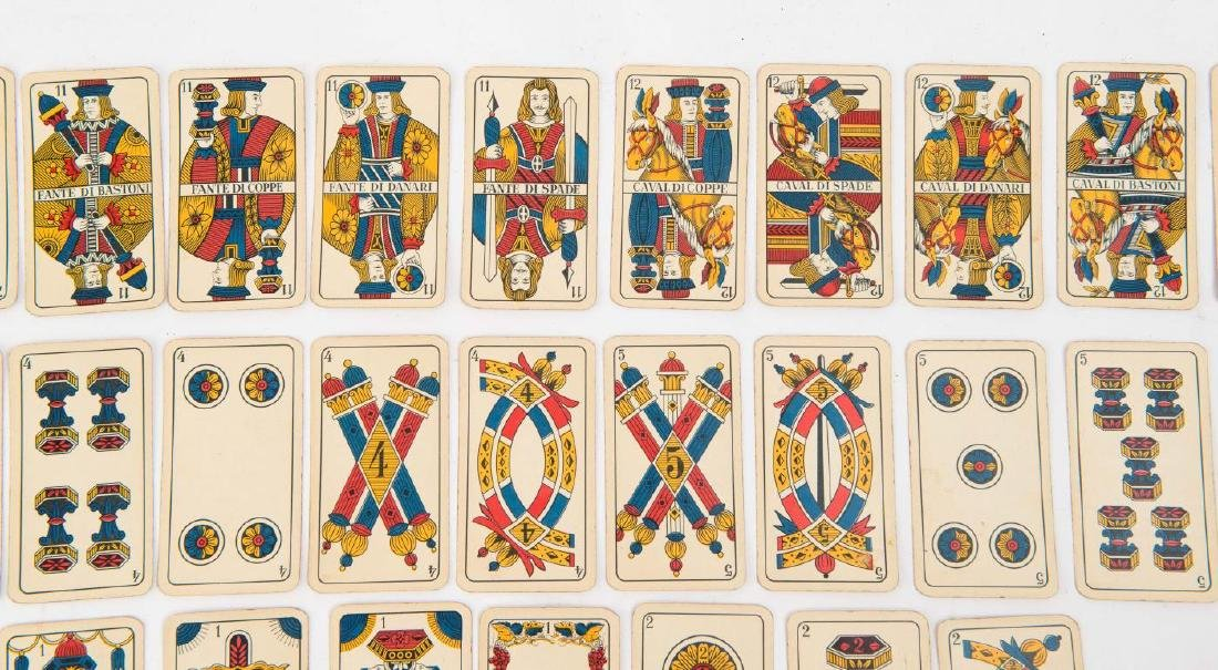 (19th c) ITALIAN PLAYING CARDS - 4