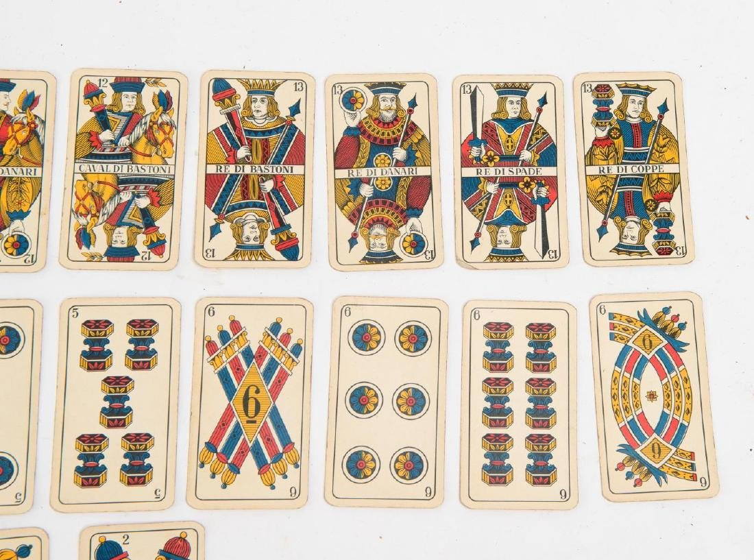 (19th c) ITALIAN PLAYING CARDS - 5