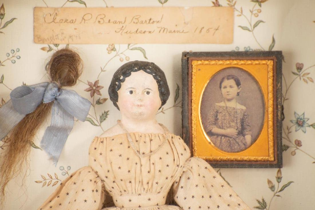 SHADOWBOX WITH GIRL'S PHOTO AND DOLL - 2
