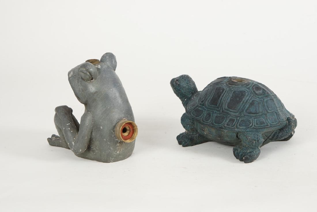 COMPOSITE FROG AND TURTLE LAWN SPRINKLERS - 2