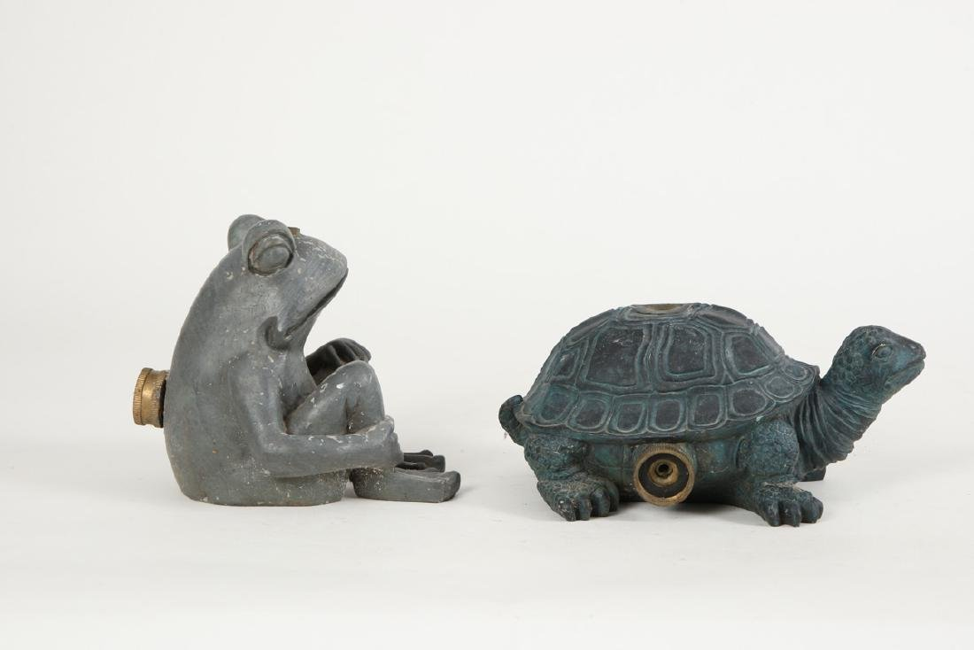 COMPOSITE FROG AND TURTLE LAWN SPRINKLERS - 3