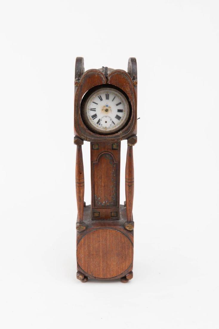 TALL CLOCK WATCH HUTCH