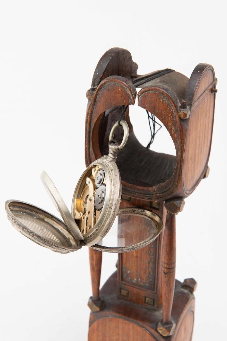 TALL CLOCK WATCH HUTCH - 2