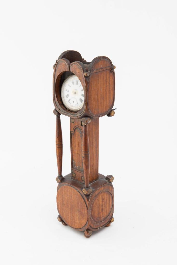 TALL CLOCK WATCH HUTCH - 4