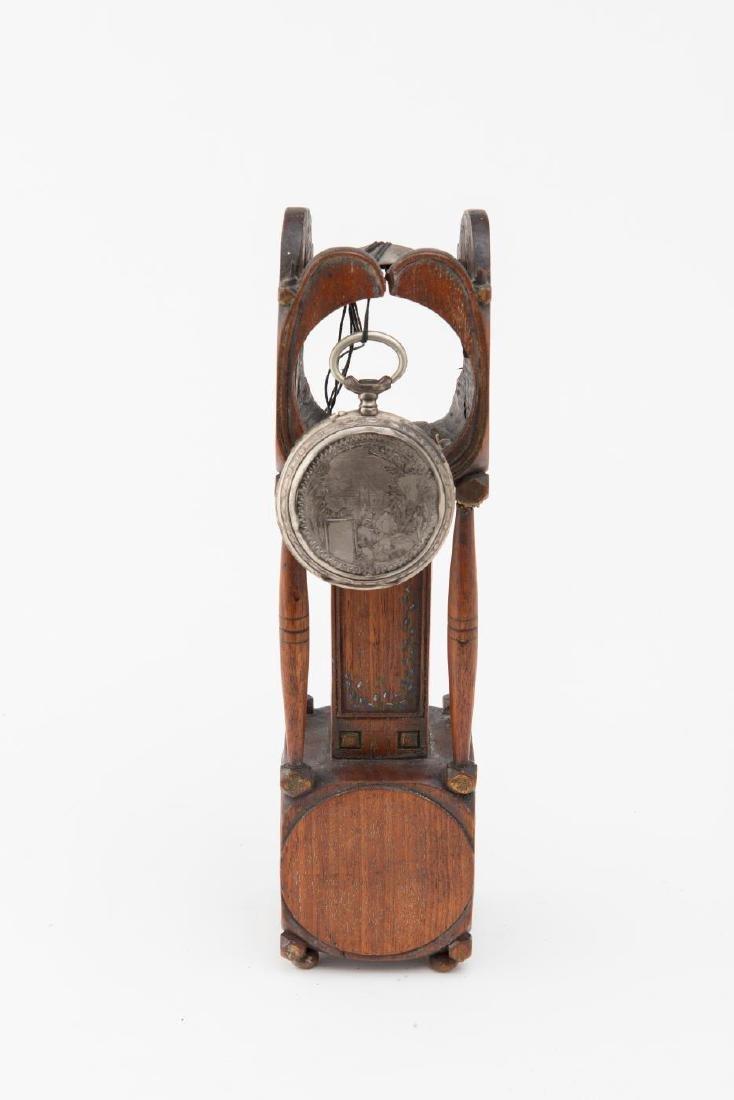 TALL CLOCK WATCH HUTCH - 7