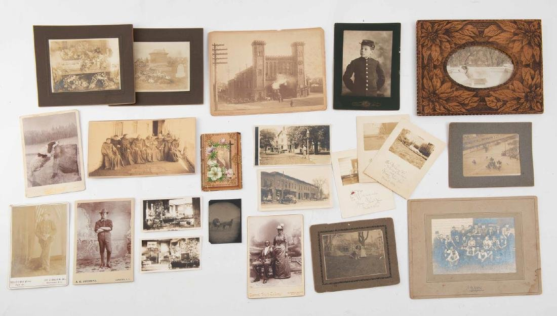 LOT OF (19th and Early 20th c) PHOTOGRAPHS