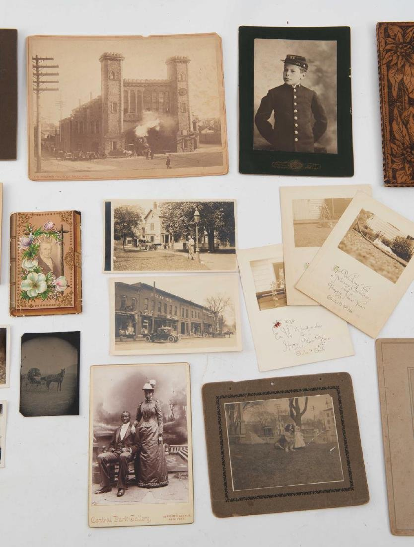 LOT OF (19th and Early 20th c) PHOTOGRAPHS - 7