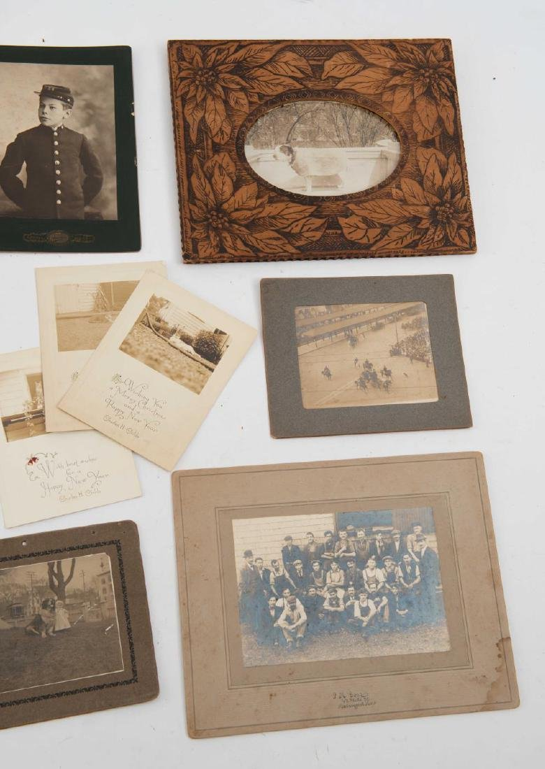 LOT OF (19th and Early 20th c) PHOTOGRAPHS - 8