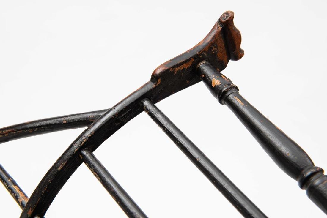 SACK BACK KNUCKLE ARM WINDSOR ARMCHAIR - 2