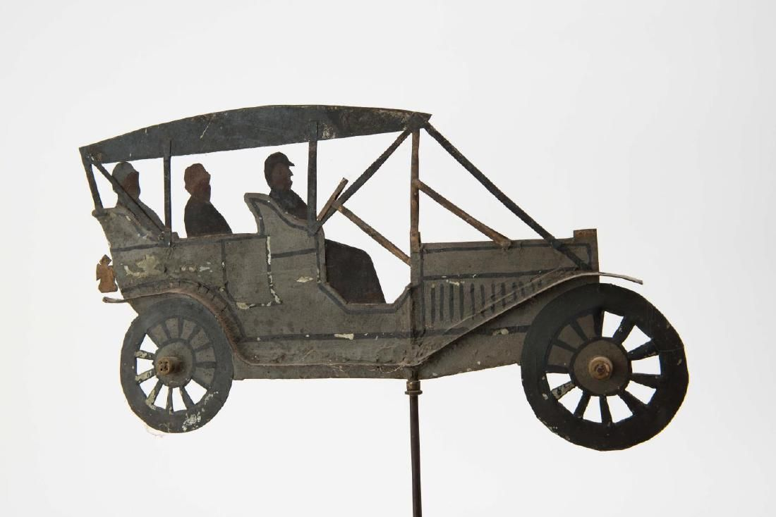 (Early 20th c) ANTIQUE CAR WEATHERVANE