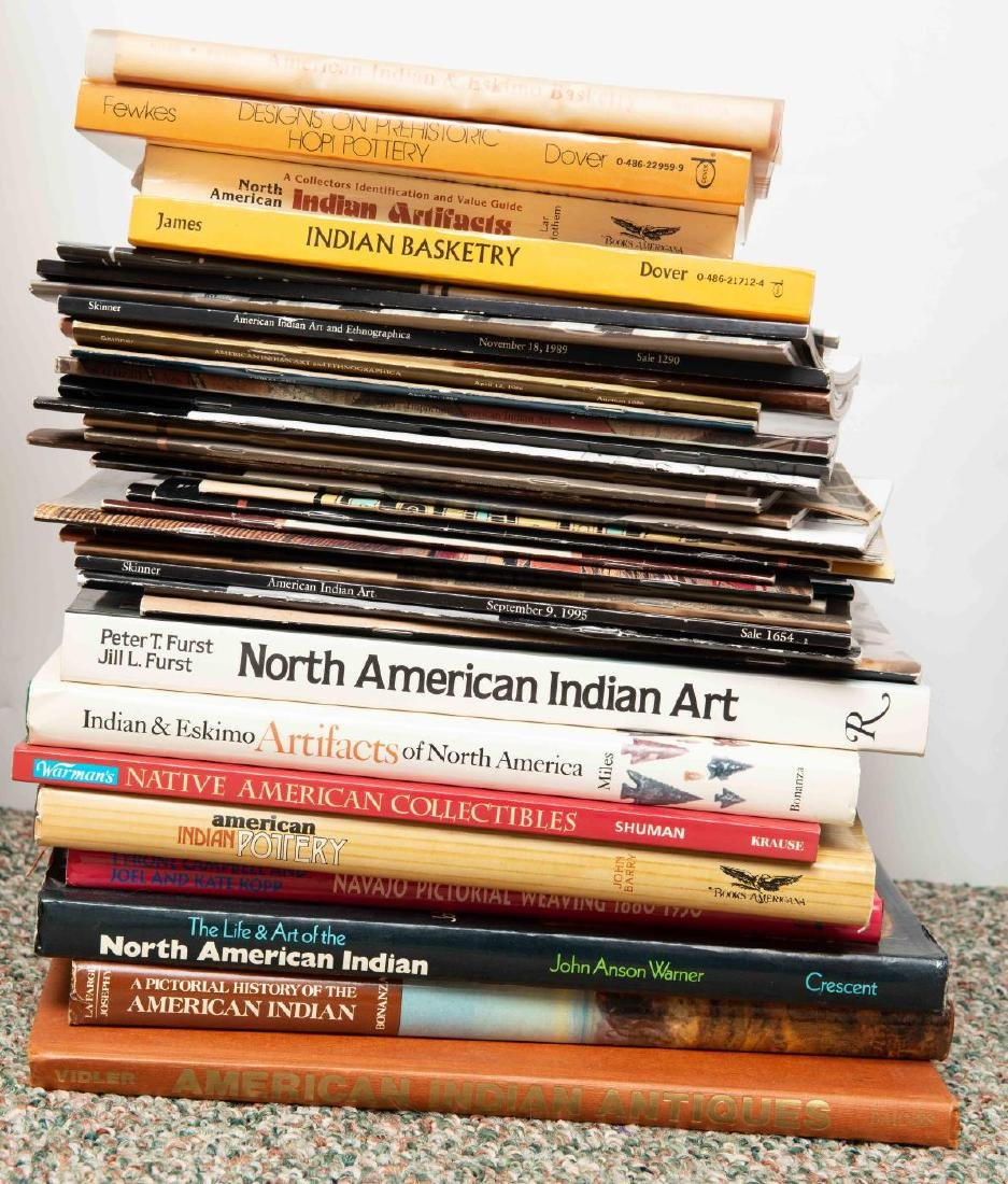 LOT OF BOOKS - NATIVE AMERICAN