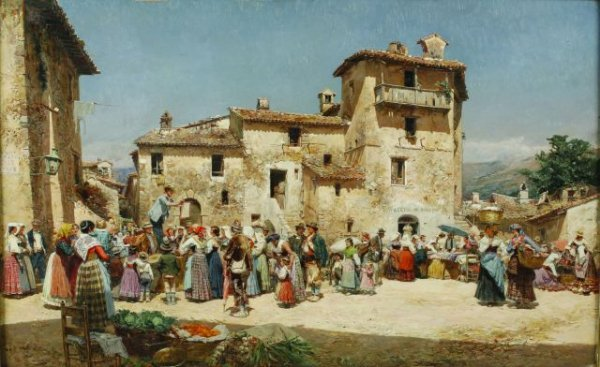 1: Mariano Barbason, Spanish (1864-1924) Performers in