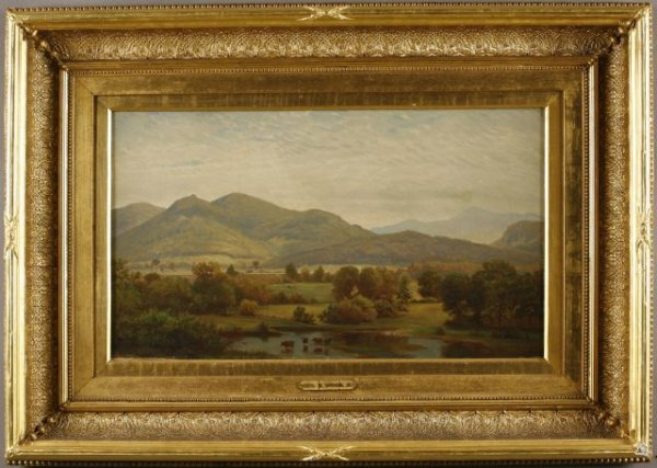 13: George B. Wood Jr., American (1832-1910) Mountain l