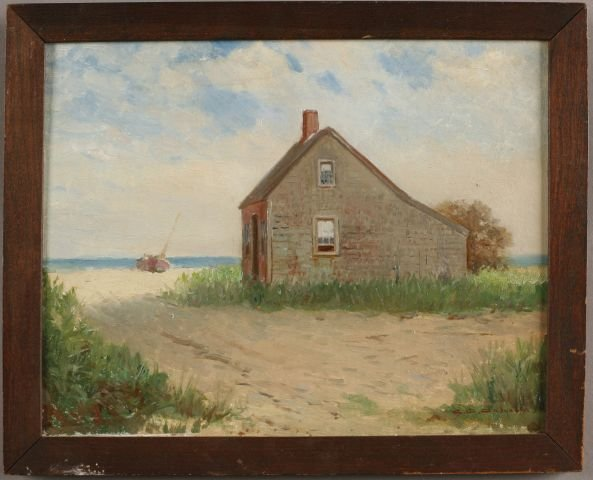 14: Charles Davis Cahoon, American (1861-1951) Cottage