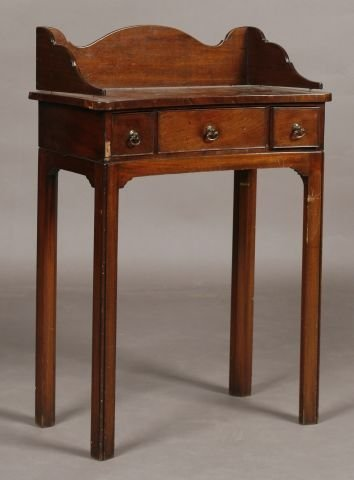 252: English dimunitive Chippendale side table