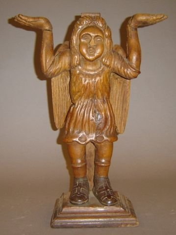 264: Late 17th / early 18th century Continental carved