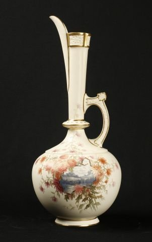 872: Royal Worcester porcelain persian style ewer