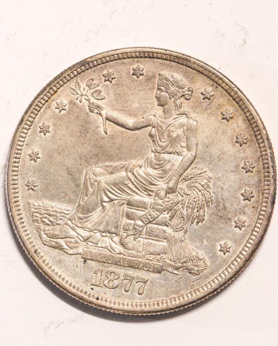 1877-S UNITED STATES TRADE DOLLAR