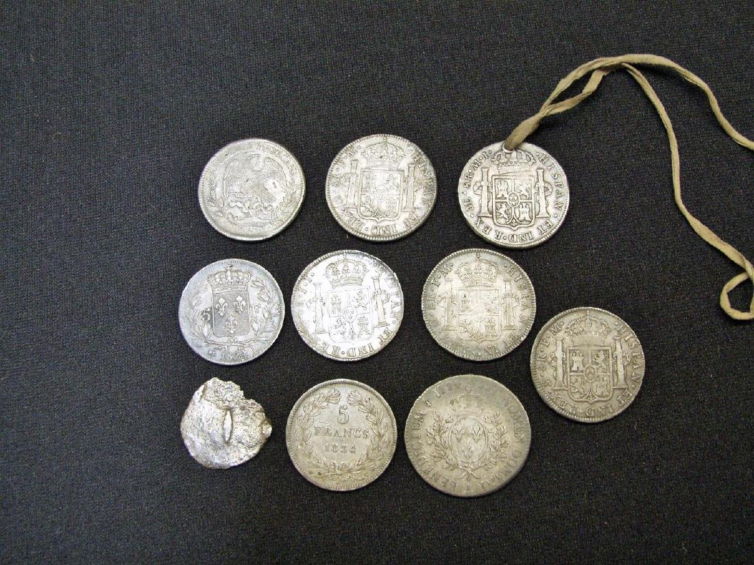 (10) SILVER FOREIGN COINS - 2