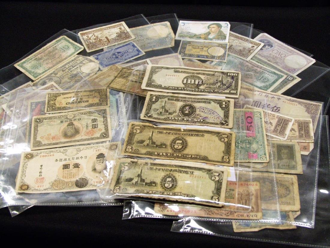 (55) FOREIGN BANK NOTES & OCCUPATION CURRENCY