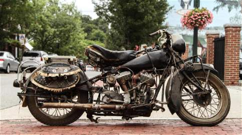 1934 INDIAN -CHIEF- MOTORCYCLE