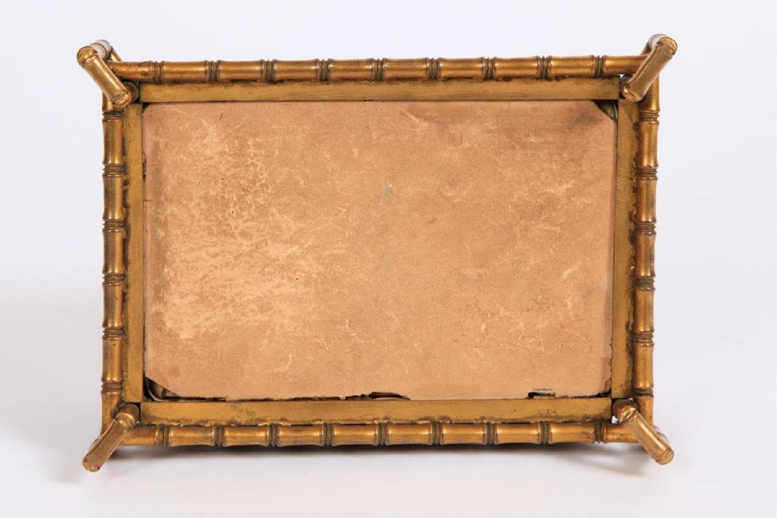 PIETRA DURA & GILT BRONZE JEWELRY BOX - 3