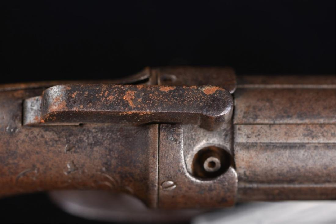 19TH CENTURY PEPPERBOX PISTOL - 8